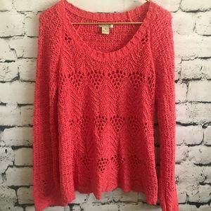Beautiful Lucky Brand Knit Sweater